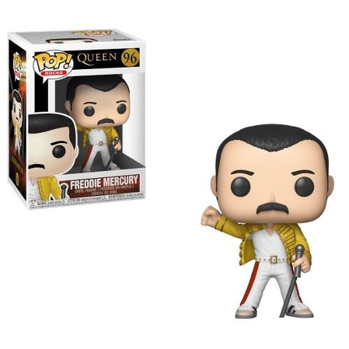 Funko Pop! Freddie Mercury (wembley): Queen (rock) #96