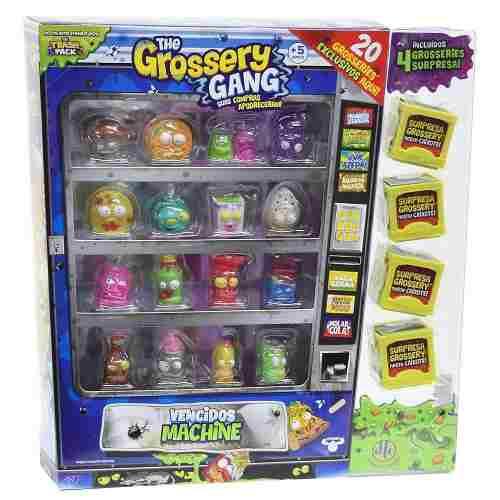 The Grossery Gang Vencidos Machine 20 Personagens Dtc