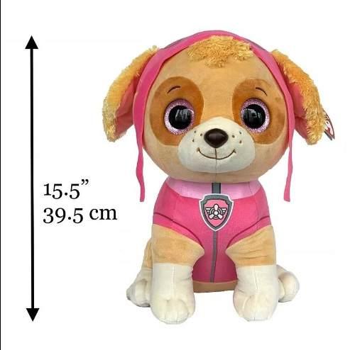 Skye Pelúcia Beanie 40 Cm Patrulha Canina Ty - Dtc 4927