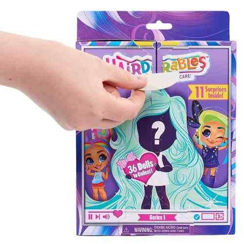 Boneca Hairdorables Lançamento Eua Doll Surprise Series 1