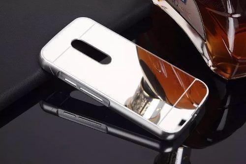 Capa Capinha Alumínio Espelhada Celular Motorola Moto G2 Top