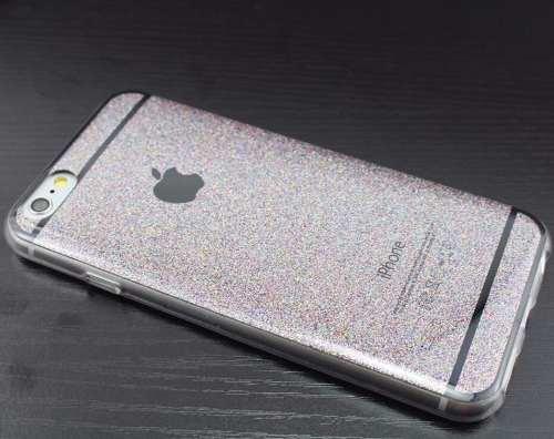 ca2cca28d72 Capa Case Glitter Brilho Moderna Apple Iphone 5 6 6s - SUPER25