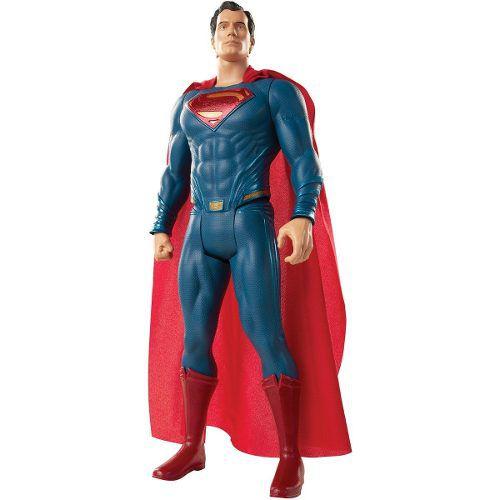 Boneco Super Homem Super Man Liga Da Justica 50cm Mimo