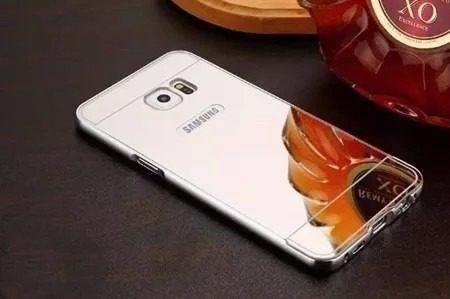 Capa Case Bumper Alumínio Metal Espelhada Galaxy S6 G920 Top
