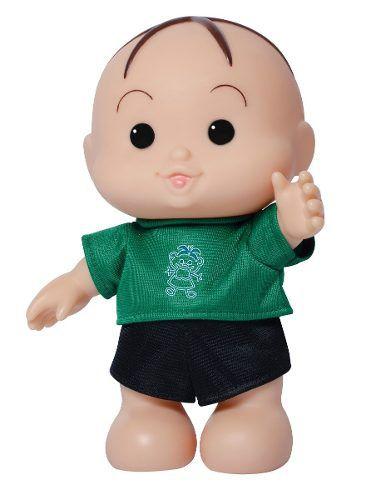 Boneco Cebolinha Turma Da Mônica Bonitinho Iti Malia Novo
