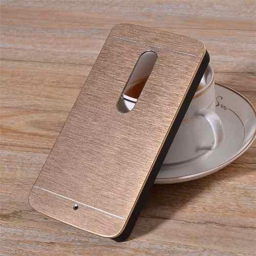 Capa Case Aluminio Motorola Moto X3 X Play Motomo