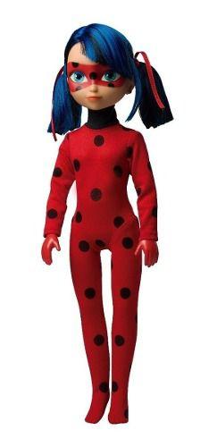 Boneca Ladybug Músical 45cm Miraculous Original - Baby Brink