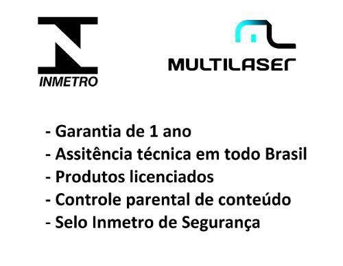 Tablet Galinha Pintadinha Infantil Multilaser Kids Android