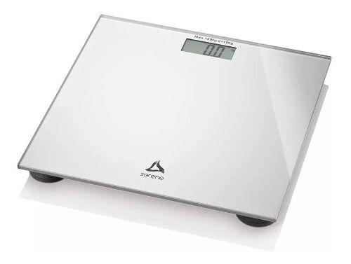 Balança De Banheiro Academia Peso Coporal Quadrada 180kg