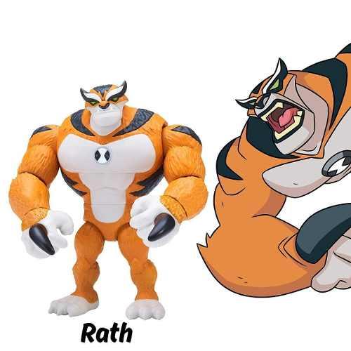 Figuras De Ação Ben 10 - Boneco Rath - Original Sunny