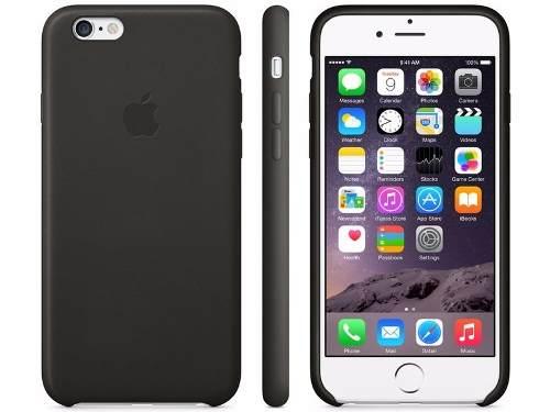 Capa Case De Couro Premium Para Apple Iphone 6 VERMELHA