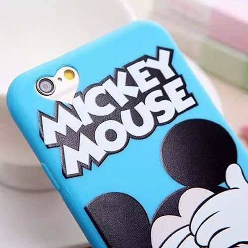 Capa Capinha Case Iphone 6s Minnie Mickey Mouse Disney
