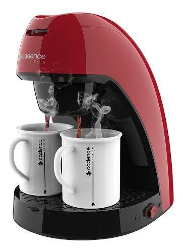 Cafeteira Elétrica Cadence C/ 2 Xícaras Caf211 Vermelha