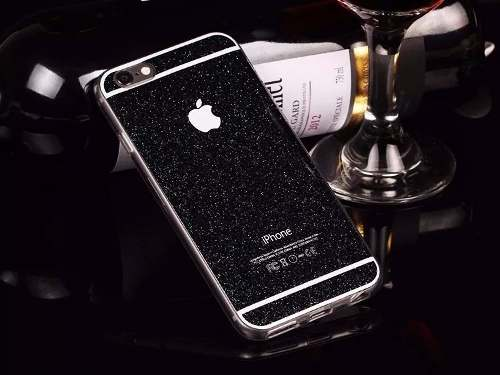 Capa Case Glitter Brilho Moderna Apple Iphone 5 5s
