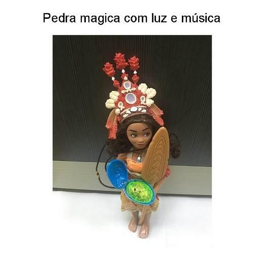 Boneca Princesa Moana Musical Brinquedo Disney