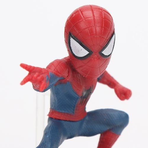 Kit Bonecos Homem Aranha PVC Marvel Vingadores Spider Man