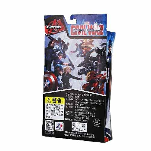 Boneco Action Figure Pantera Negra 15cm Articulado Marvel
