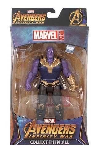 Boneco Thanos - Vingadores Guerra Infinita - Marvel