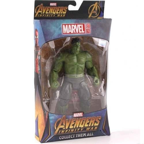 Action Figure Hulk - Guerra Infinita - Marvel - Com Base