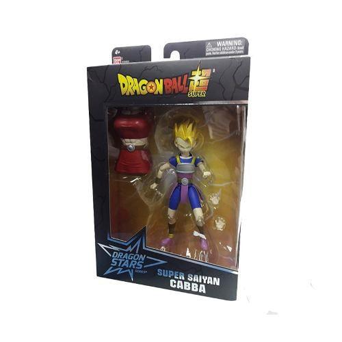 Boneco Articulado Super Saiyan Cabba Dragon Ball Super