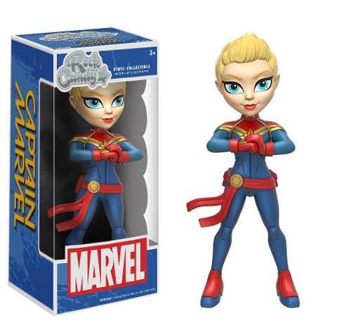 Capitã Marvel - Captain Marvel - Rock Candy - Funko