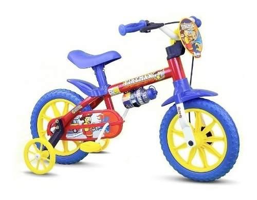 Bicicleta Infantil Menino Aro 12 Masculino P/ Entrega Nova
