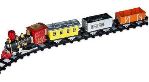 Trem De Brinquedo Braskit Super Locomotiva Expresso