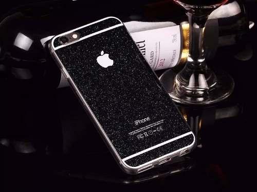 Capa Case Glitter Brilho Apple Iphone 5 + Película Vidro