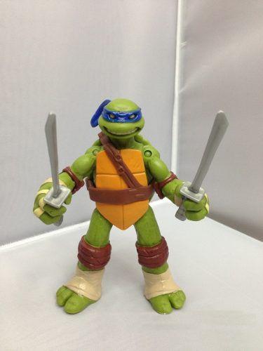 Kit 4 Bonecos Articulados Tartarugas Ninja