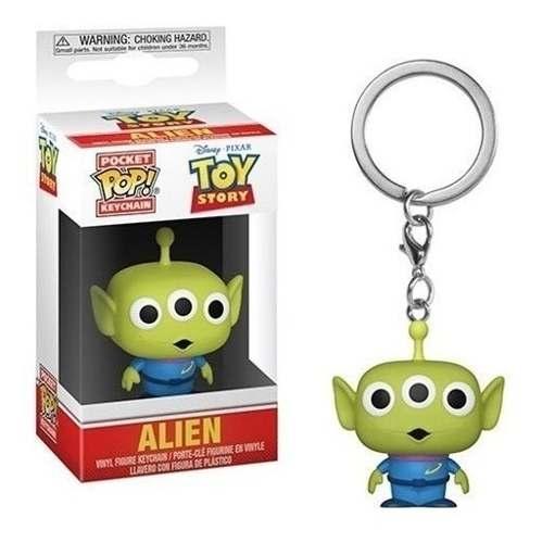 Disney Toy Story Chaveiro Mini Boneco Pop Funko Alien