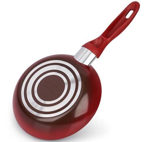 Jogo De Panelas 5 Peças Ceramic Life Smart Vermelha Brinox