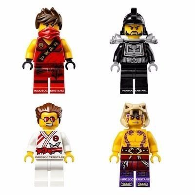 Kit Ninja Go Ninjas - Dojo Showdown 215 Pçs - Pronta Entrega