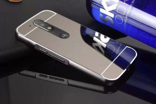 Capa Espelhada Moto G4 Plus + Anti Impacto Moto G4 Plus