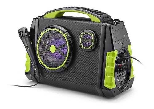 Caixa De Som Multilaser Bluetooth Festa 120w Rms Sp280