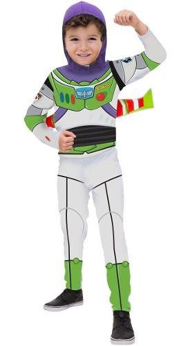 Fantasia Buzz Lightyear Infantil Longa Toy Story 4 Original