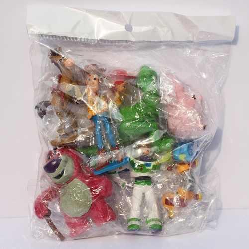 Kit Action Figure Conjunto 9 Bonecos Miniaturas Toy Story 3