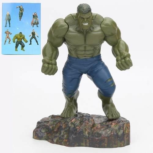 Boneco Marvel Figure Hulk 20 CM Vingadores Pronta Entrega