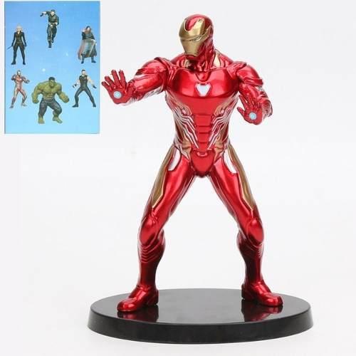 BONECO MARVEL FIGURE Iron Man Homem de Ferro 17CM Vingadores
