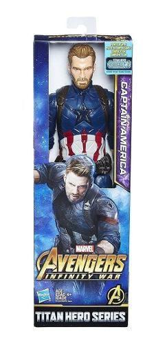 Boneco Capitão America Vingadores Guerra Infinita Avengers
