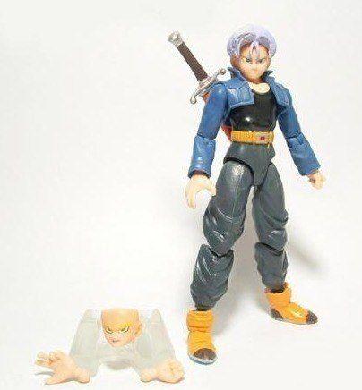 Kit C/ 6 Bonecos Dragon Ball Z Articulados - Goku Gohan Etc