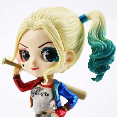 Boneco Harley Quinn Arlequina Q Posket Esquadrão Suicida
