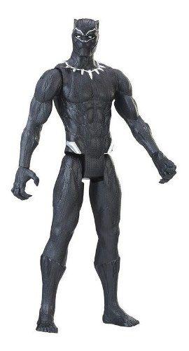 Boneco Marvel 30cm Pantera Negra Power Fx - Hasbro