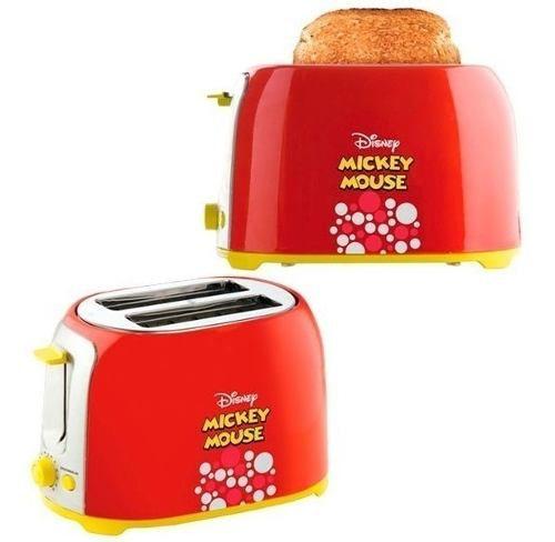 Torradeira Mallory Disney Mickey Mouse - 6 Níveis Tostagem