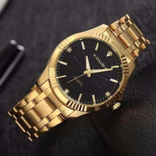 Relógio Amuda Casual Masculino Original Modelo Am2041