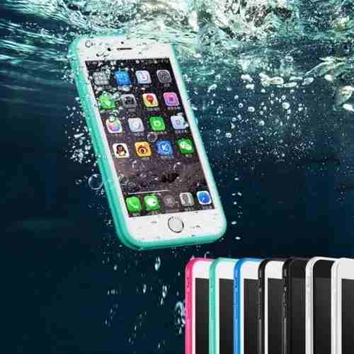 Kit Capinha Case Capa Prova Dágua Waterproof Iphone 6 Plus