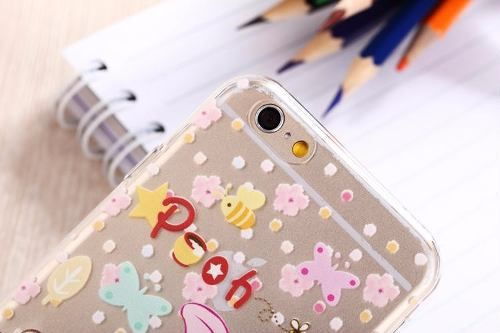 Capinha Case Silicone Iphone 6 / 6plus Disney Ursinho Pooh Puff