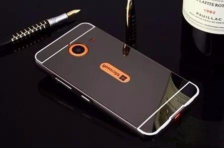 Capinha Bumper Alumínio Espelhada Nokia Lumia 640xl Tela 5.7