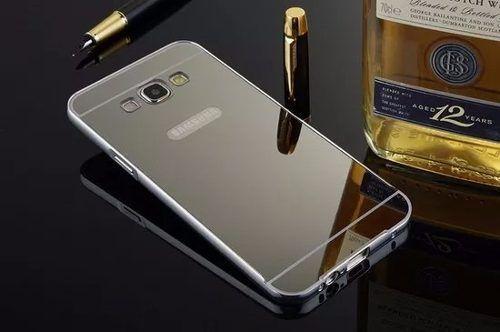 Capinha Bumper Alumínio Espelhada Luxo Samsung Galaxy On7