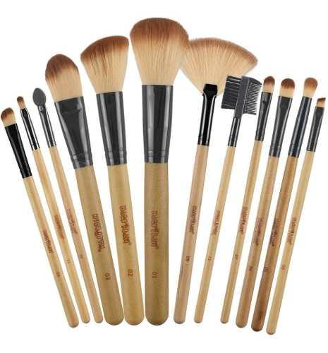 Kit 12 Pincéis Profissionais Maquiagem Kp1-2g Macrilan