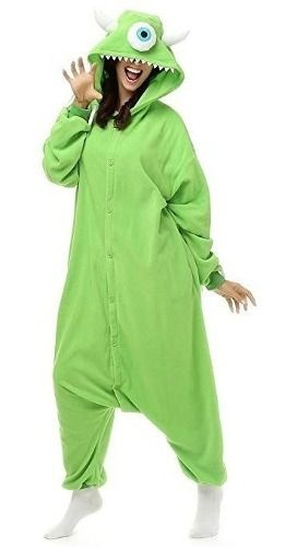 Pijama Fantasia Mike Wazowski Monstros Sa Unissex Kigurumi